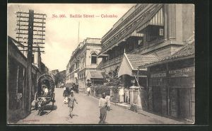AK Colombo, View of Baillie Street