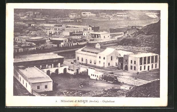 AK Aden, Mission d'Aden, Orphelinat