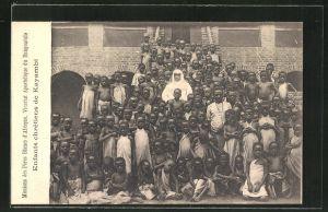 AK Kayambi, Enfants chrétiens, Missions des Pères Blancs d'Afrique