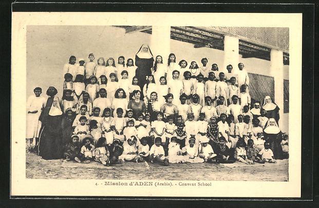 AK Aden, Mission d'Aden, Convent School
