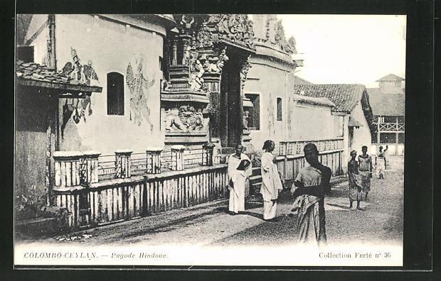 AK Colombo, Pagode Hindoue