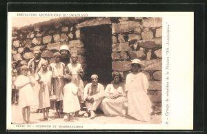 AK Swaziland, Groupe de neophites de la Missions SS Annonciation, Mission