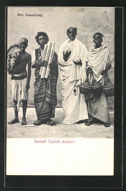 AK Brit. Somaliland, Somali Curios dealers