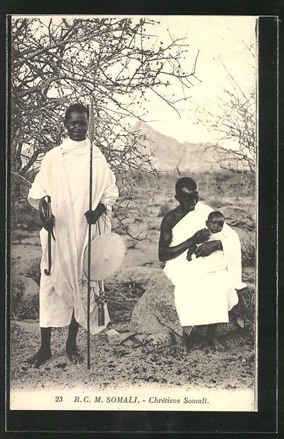 AK Somalia, Chretiens Somali