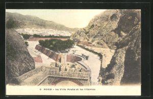 AK Aden, La Ville Arabe et les Citernes