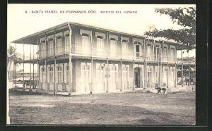 AK Santa Isabel de Fernando Poo, Edifico del Juzgado