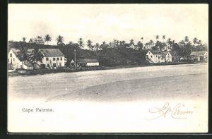 AK Cape Palmas, Totalansicht vom anderen Flussufer aus