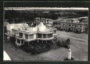 AK Usumbura, Blick auf das Hotel Paguidas