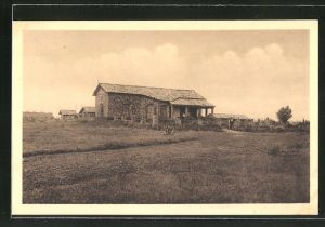 AK Butare, Première habitation d'Européen et premier hôpital