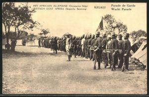 AK Kigali, Parade der Wacht, Parade de Garde