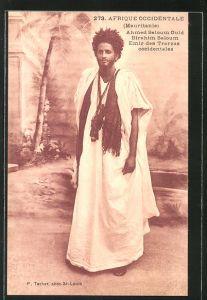 AK Mauretanien, Ahmed Saloum Ould Birahim Saloum, Emir des Trarzas occidentales