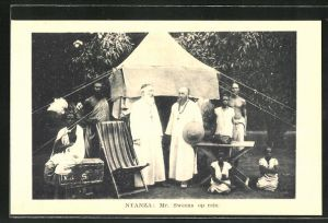 AK Nyanza, Mr. Sweens op reis