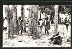 AK Usumbura, Scene du Marché indigene