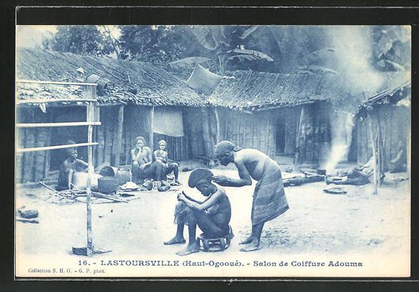 AK Lastoursville, Salon de Coiffure Adouma