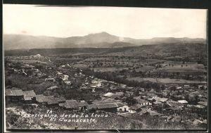 AK Tegucigalpa, des de La Leona, El Cuanacaste