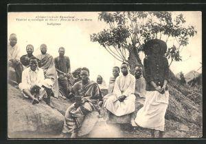 AK Nyasaland, Vicariat apostolique du Shire, Pere de la Cie de Marie, Indigenes
