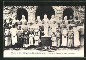 AK Malawi, Mission du Shiré des Péres Montfortains, Filles de la Sagesse et leurs chretiennes
