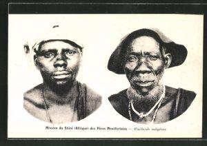 AK Malawi, Mission du Shire des Peres Montfortains, Vieillards indigenes