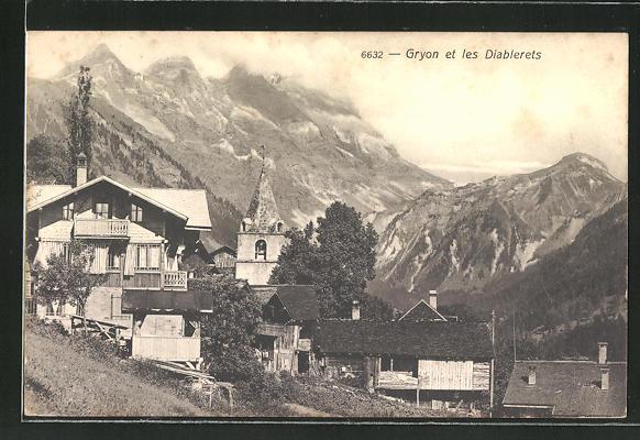 AK Gryon, Panorama et les Diablerets