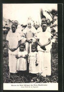 AK Malawi, Mission du Shiré des Pères Montforteins, Une Fille de la Sagesse