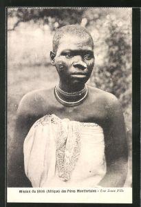 AK Malawi, Mission du Shiré des Pères Montforteins, Une Jeune Fille