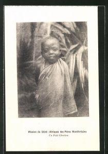 AK Malawi, Mission du Shiré des Pères Montforteins, Un Petit Chrétien