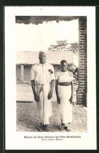 AK Malawi, Mission du Shiré des Pères Montforteins, Deux Jeunes Mariés