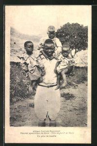 AK Nyasaland, Vicariat apostolique du shire, pere de la c de marie, un pere de famille