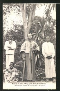 AK Malawi, Mission du Shire des Peres Montfortains, Monseigneur Auneau V. A. de la C de Marie