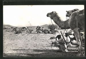 AK Mauretanien, Rastende Karawane