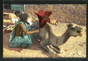 AK Mauritanie, Maure sellant sa Monture