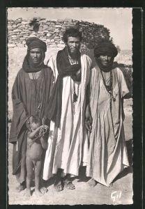 Foto-AK Mauritanie, Types de Maures