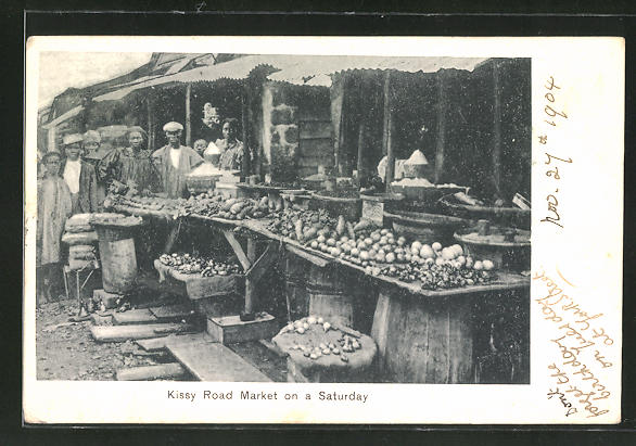AK Freetown, Kissy Road Market on a Saturday, Marktszene