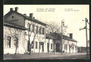 AK Mezdra, La Gare, Ansicht vom Bahnhof