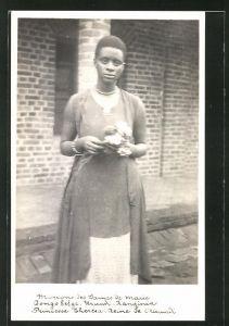 Foto-AK Burundi, Princesse Therea, Reine de Burundi