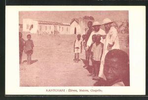 AK Kantchari, Eleves, Maison, Chapelle