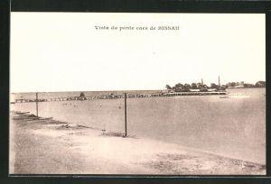AK Bissau, Vista da ponte caes de Bissau
