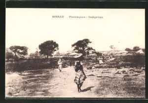 AK Bissau, Povoacoes Indigenas