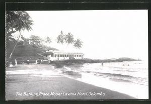 AK Colombo, Mount Lavinia Hotel, The Bathing Place