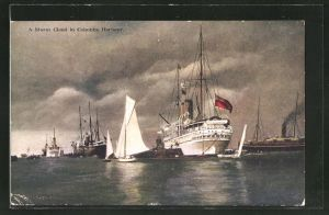 AK Colombo, Storm Cloud in Colombo Harbour
