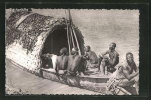 AK Tschad, Départ de Pêcheurs sur le Logone