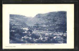 AK Saint-Denis, Panorama du bas de la Rivière