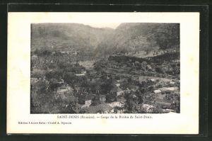 AK Saint-Denis, Gorge de la Rivière de Saint-Denis