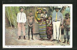 AK Carti, Indian Family, San Blas, Indianer