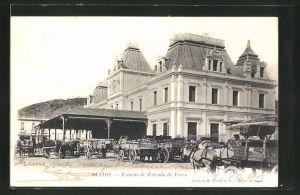 AK Santos, Estacao de Estrada de Ferro, Bahnhof