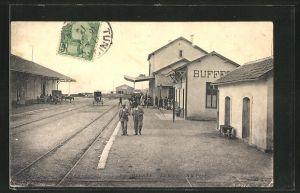 AK Bizerte, La Gare, Bahnhof