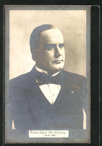 AK Präsident der USA Mc Kinley