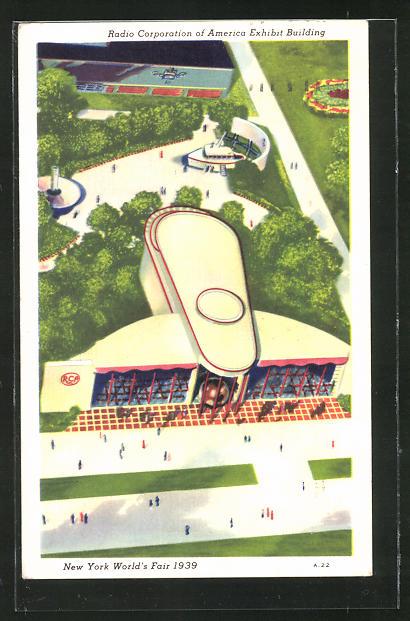 AK New York, World's Fair 1939, Radio Corporation of America Exhibit Building