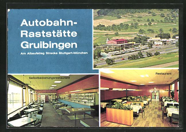 AK Autobahn-Raststätte Gruibingen, Selbstbedienungsrestaurant