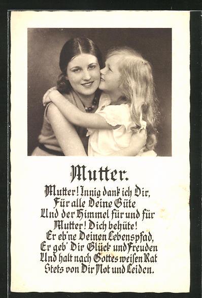 Spruch Mutter